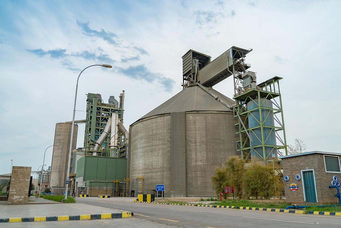 Dg Cement Captive Power Plant Flow Diagram Clinker Storage